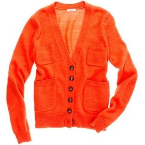 Madewell Wallace sweater orange